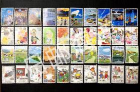 日本邮票 季节回忆全集 四集40枚全