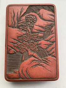 砚盒 日本漆器 日本传统工艺