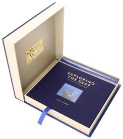 预售深海探索泰坦尼克号的秘密詹姆斯卡梅隆全球豪华限量版300套Exploring the Deep Limited Edition