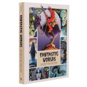 预售奇幻世界威廉斯托特的艺术精装Fantastic Worlds: The Art of William Stout