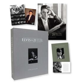 预售猫王全球豪华限量版Elvis at 21 : New York to Memphis