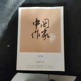 中国作家·文学版2020.11