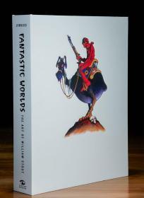 预售奇幻世界威廉斯托特的艺术豪华限量版 Fantastic Worlds: The Art of William Stout Limited Edition