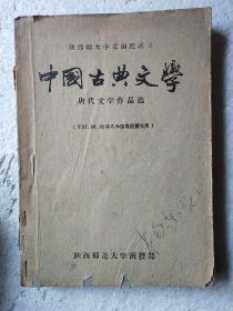 中国古典文学(唐代文学作品选)