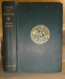 1896年THOMAS HARDY _ Jude the Obscure 哈代杰作《无名的裘德》极珍贵初版本 存世极少 布面精装 精美原品蚀刻插图 增补插图