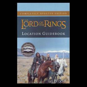 预售绝版指环王魔戒取景地指南Lord of the Rings Location Guidebook