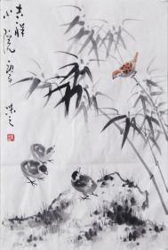 【自画自销】当代艺术家协会副主席王丞手绘! 吉祥小院20143