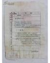 FZY112239著名航模教练、曾多次打破世界纪录郭浩洲(1940-1993) 手写简历表一页