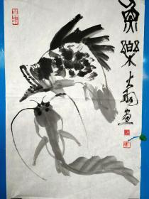 陈大羽国画 、【保证手绘%作品】 --- -中国美术家协会常务理事,江苏省美术家协会副主席。