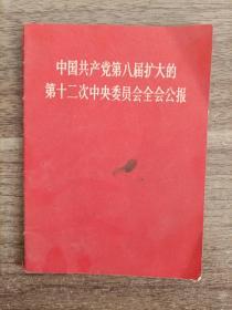1968年《中国共产党第八届中央委员会全会公报》一本