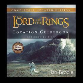 预售指环王魔戒取景地指南扩展版The Lord of the Rings : Location Guidebook Extended Edition