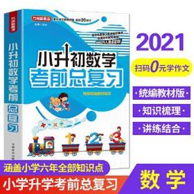 小升初数学考前总复习 2021年修订版 小考专用 讲练结合巩固提升