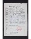 NZY111153北京著名工艺美术家张俊山、张儒连参加1988年第三届全国工艺美术艺人代表大会 登记表2页