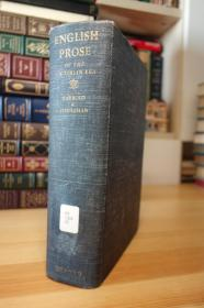 English Prose of the Victorian Era 维多利亚时代散文选 厚重 1743页 1.7公斤