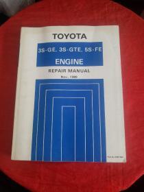 英文版:TOYOTA(3S-GE,3S-GTE,5S-FE)Engine Repair Manual 89年版
