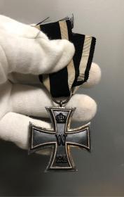 德国2级铁十字勋章,1914版,带厂标KO