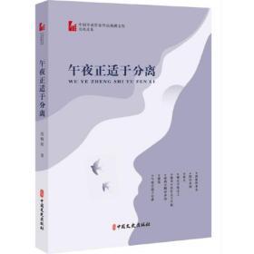 午夜正适于分离(中国专业作家作品典藏文库·范晓波卷)