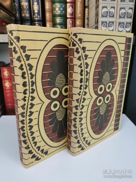 The Histories of Herodotus 古希腊 希罗多德名著《历史》heritage press 1958年出版 布面精装版 全两卷