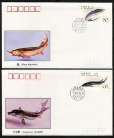 1994-3《鲟》 特种邮票 极限封