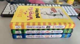 Diary of a Wimpy Kid:(2、3、4)三本合售   精装