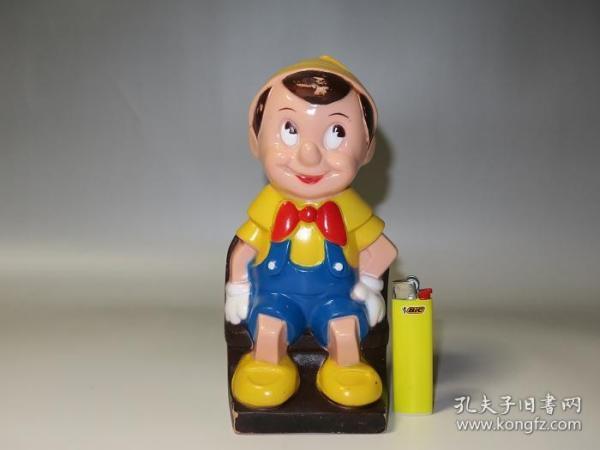 骨灰级迪斯尼玩具!40年代美国迪斯尼匹诺曹(储钱罐)