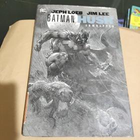 蝙蝠侠 全线稿 素描版 Batman: Hush Unwrapped Deluxe