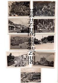 民国或建国早期,新加坡老照片9张合售,尺寸8*5.6CM