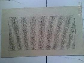 中国革命博物馆 复制品【反对海关虐遇荤员会之宣言】440X370