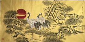 中国美术家协会理事 甘肃省美协主席 莫建成 老师 精品工笔 买家自鉴,。
