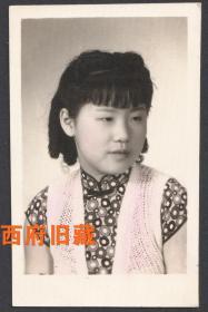 民国老照片,旗袍针织衫女孩儿,部分有手工上色