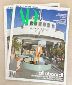 AD ARCHITECTURAL DIGEST建筑辑要2020年11美国建筑设计英文杂志