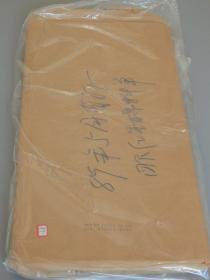 老红星宣纸专场:1989年5月拣选洁白玉版棉料四尺单宣一刀百枚