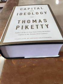 现货(英文)《资本与意识形态》Capital and Ideology托马斯皮凯蒂作品,纽约时报畅销书 [正品原版精装]
