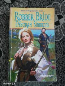外文原版:ROBBER BRIDE DEBORAH SIMMONS