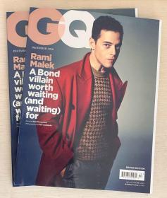 英国 GQ绅士2020年12月拉米·萨义德·马雷克Rami Malek 英文杂志