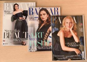 英国版HARPER`S BAZAAR 芭莎2020年10+11月 2本打包女士服装英文杂志
