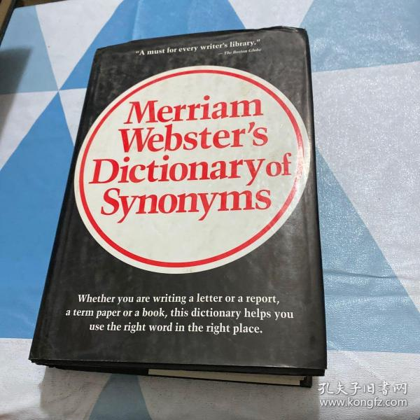 Merriam Webster's Dictionary of Synonyms