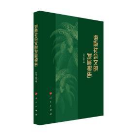 海南社会文明发展报告