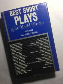 Best Short Plays of the World Theatre, 1958-1967