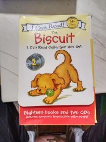 英文原版 I Can Read 小饼干狗 绘本 My first reading Biscuit 汪培珽推荐系列 HarperCollins出版社 18册 送2CD【带外盒,盒破损】