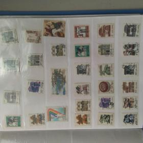 已用过邮票