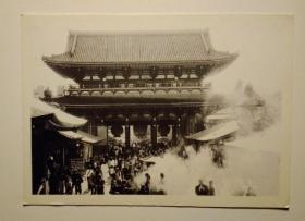 日本实寄明信片一张