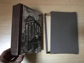 (配书匣,贴藏书票)The Decline and Fall of the Roman Empire   吉本《罗马帝国衰亡史》,卷三(全套3卷),古典史权威 J.B.Bury 编,Heritage Press插图版,精装大32开,重超1公斤,1946年老版书