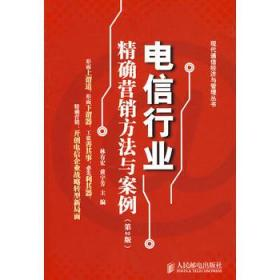 正版现货 电信行业精确营销方法与案例/现代通信经济与管理丛书 人民邮电出版社