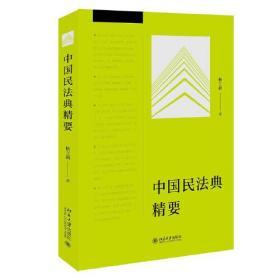 库存新书  中国民法典精要
