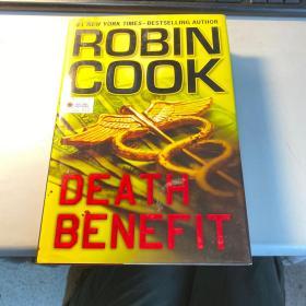 death benefit   英语原版  精装版  稀见     保证正版  照片 实拍  D26