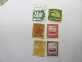 """24#1942年满洲帝国纪15""""满洲帝国建国十周年纪念""""--纪念邮票6枚新全套"""