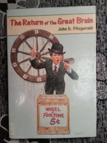 外文原版The Return of The Great Brain