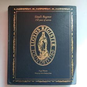 英文原版Lloyd's Register 250 years of service劳氏船级社成立250周年志