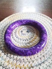 紫色大镯子